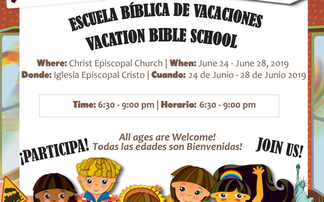 Vacation Bible School / Escuela Biblica de Vaciones