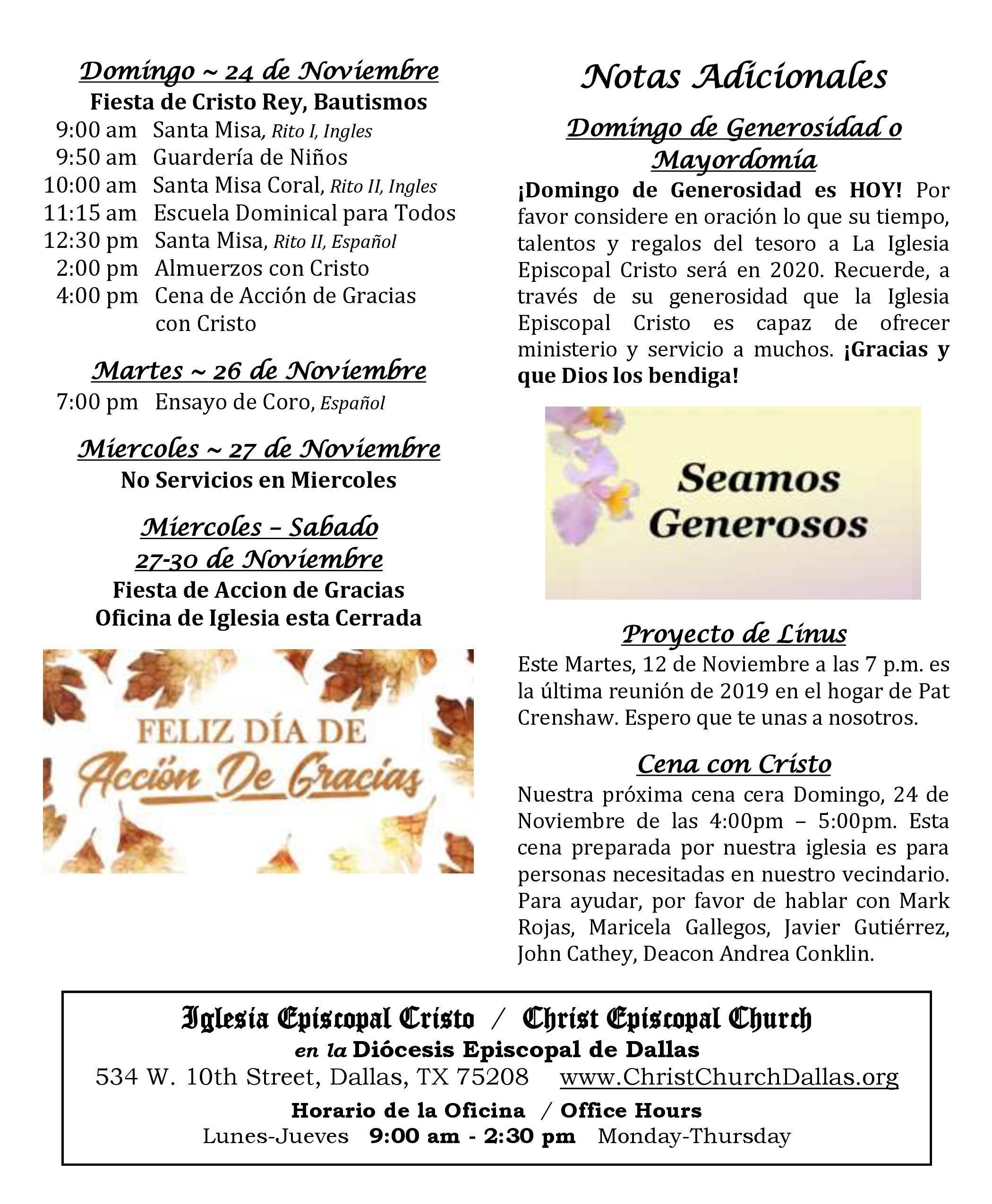 2019 1110 Noticias Semanales 2