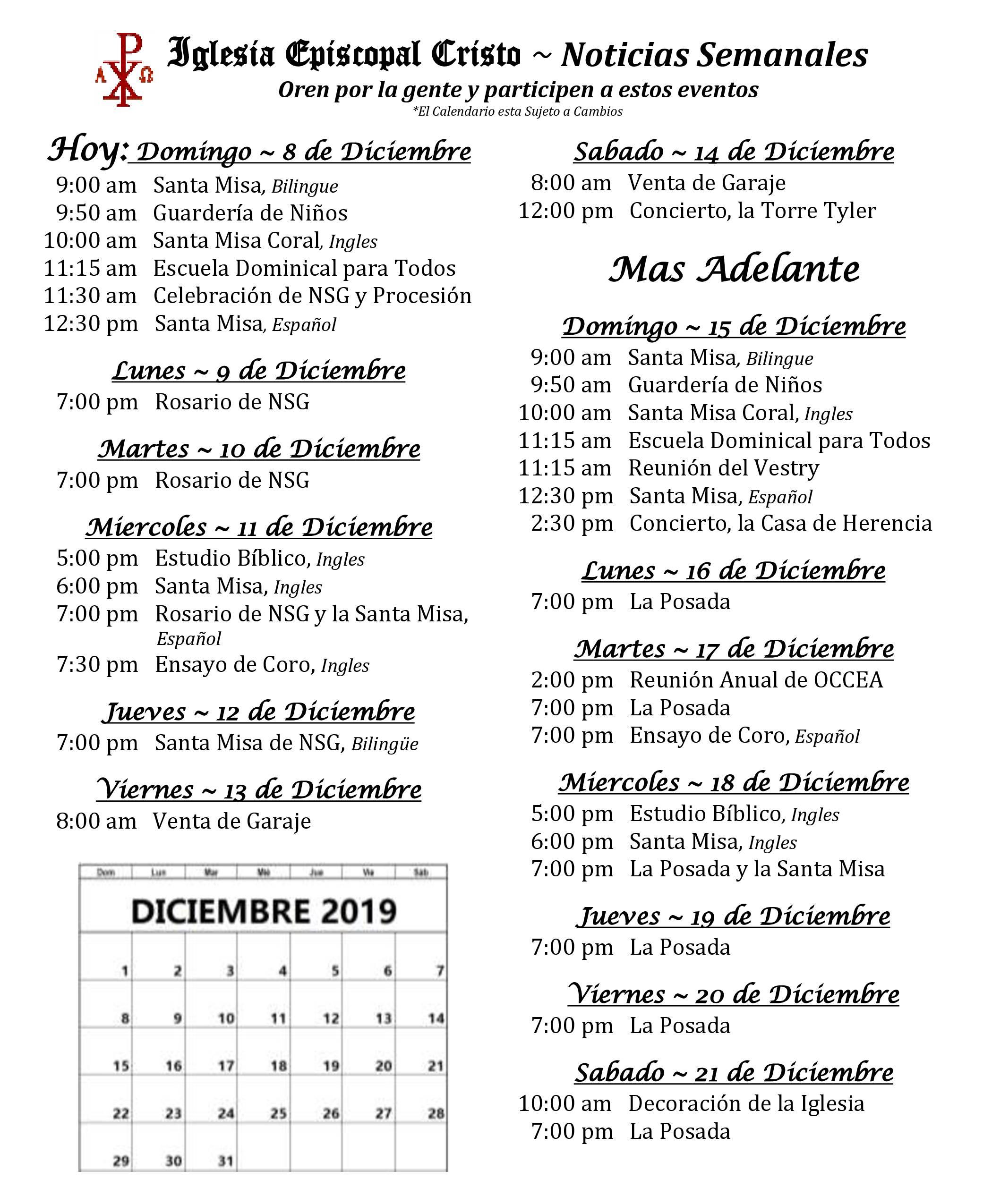2019 1208 Noticias Semanales 1