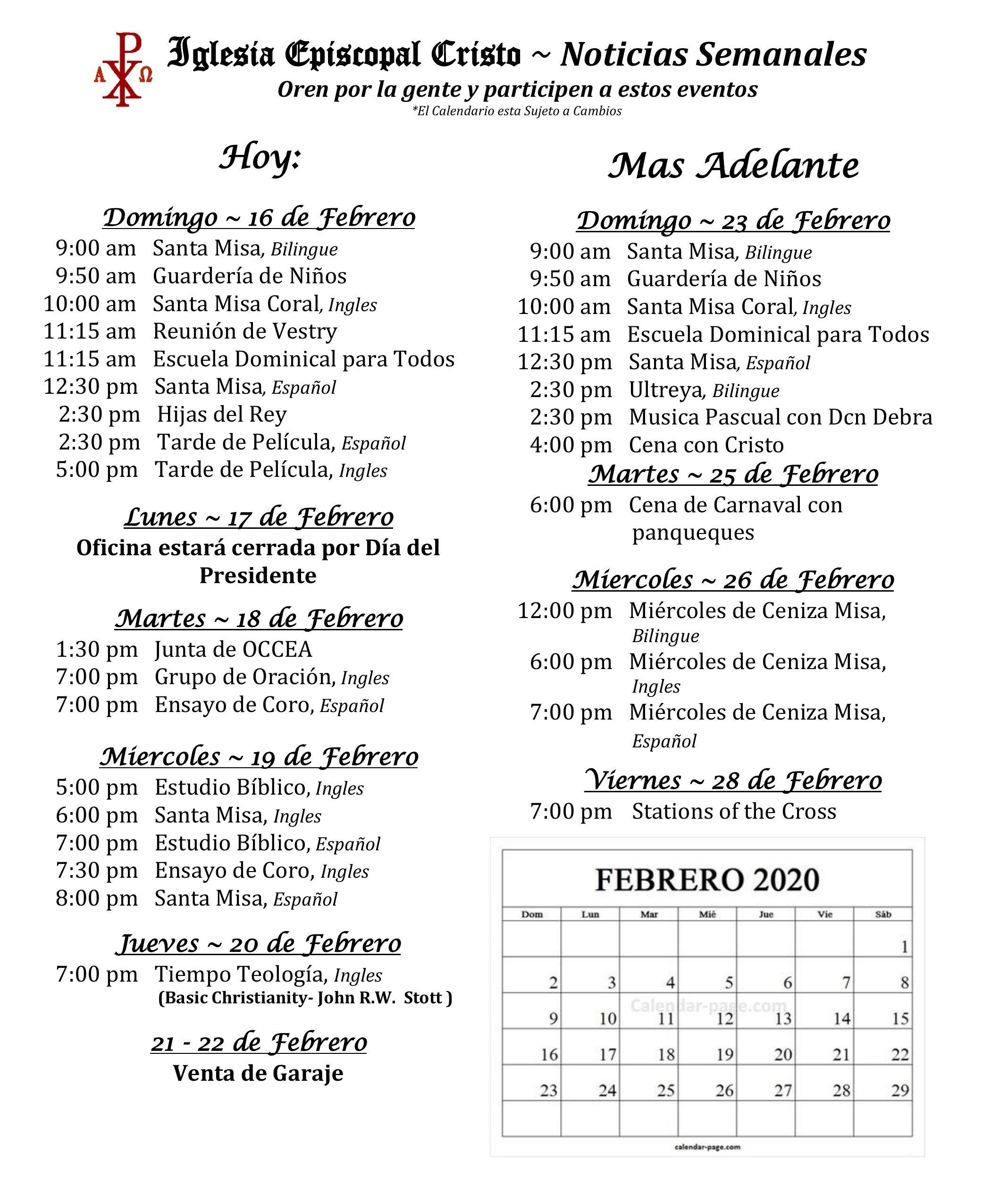 2020 0216 Noticias Semanales1