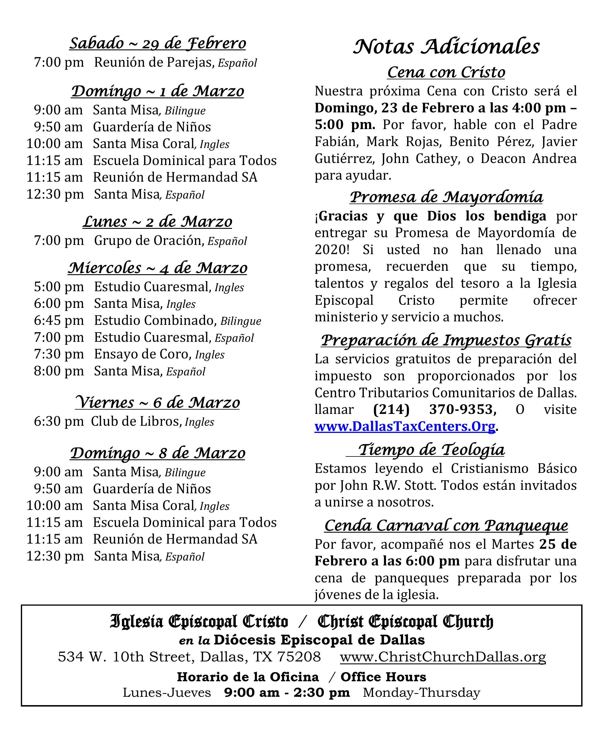 2020 0216 Noticias Semanales2